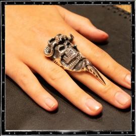 Mad max skull ring