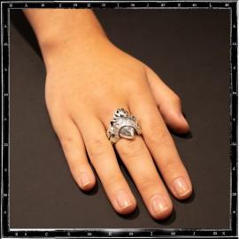 Forever sacred heart ring