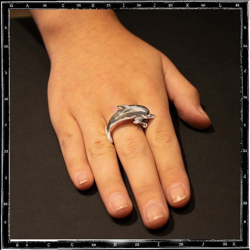 DOLPHIN 3D RING