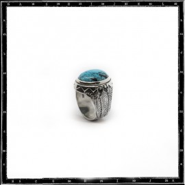 Three feathers ring (large)