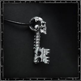 Skull key pendant