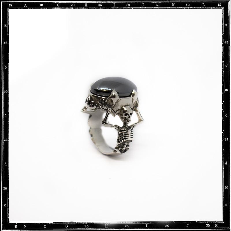 Twin Skeleton Ring