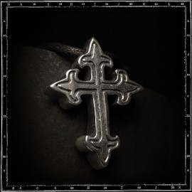Small gothic cross pendant
