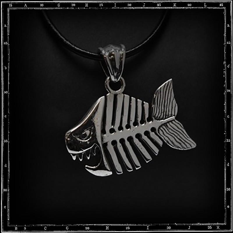 Pirahna pendant