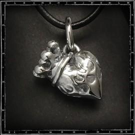 3D sacred heart pendant