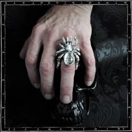 Crystal tarantula/spider ring