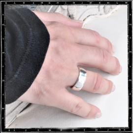 LIGHT PLAIN BAND RING (8mm x 2mm)