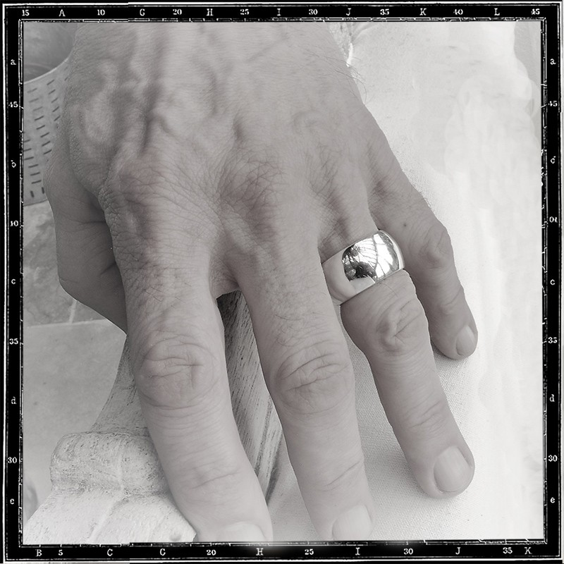 Wide Band ring (14mm)