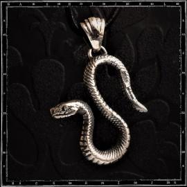 S Snake pendant