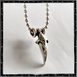 Tribal tooth pendant