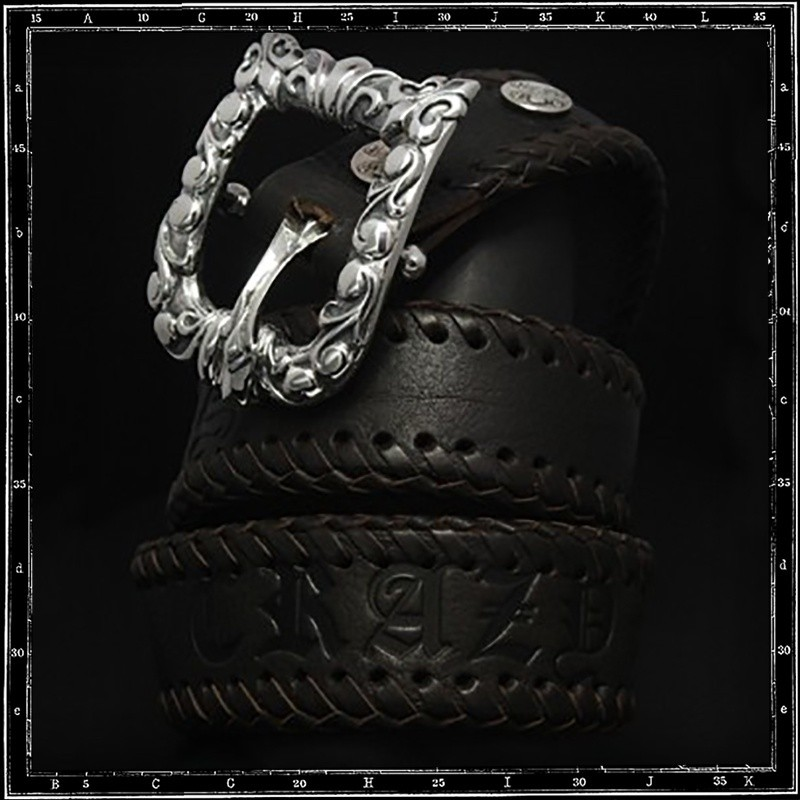 Tudor buckle & belt