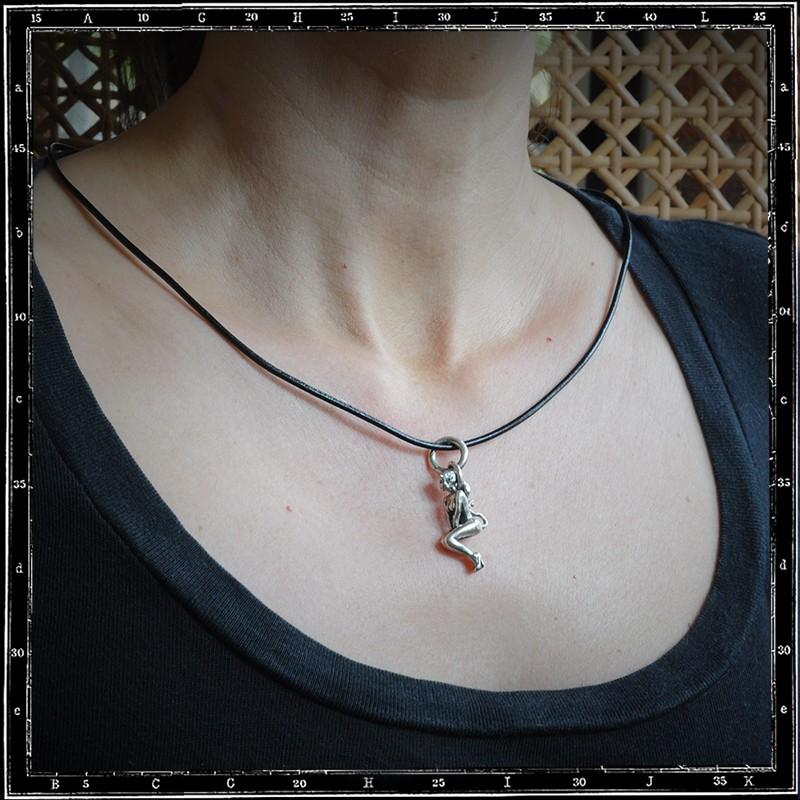 Hell's belle pendant