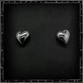 Heart stud/earring