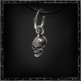 Small 3d skull earring