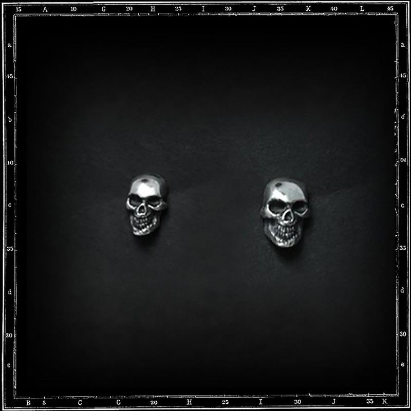 Skull & jaw stud earrings