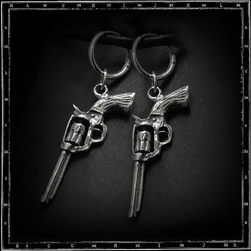 Pistol earrings