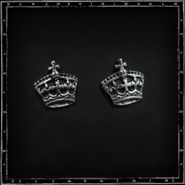 Crown stud/earring