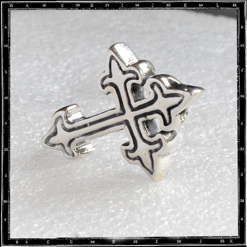 Small gothic cross pendant