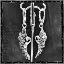 Wing earrings