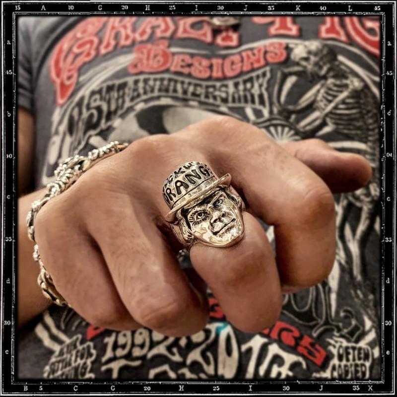 Alex, A Clockwork Orange ring (enamel)