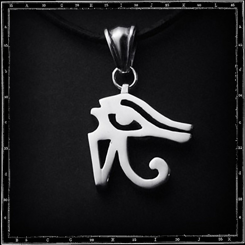 LARGE EYE OF HORUS PENDANT