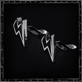 LIGHTNING BOLT CUFFLINKS