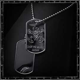 Crazy Pig Designs Dog Tags
