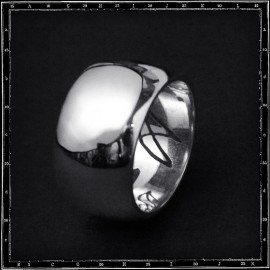 WIDE BAND RING (14mm )