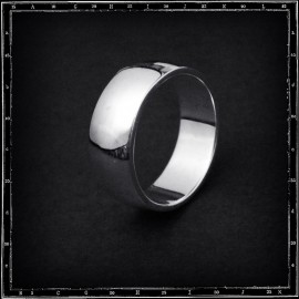 LIGHT PLAIN BAND RING (8mm x 2mm)