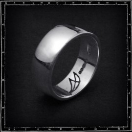 LOW 'D' PLAIN BAND RING
