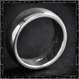 HEAVY PLAIN BAND RING (9mm x 3mm)