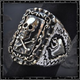 Calavera Mexican Skull Ring
