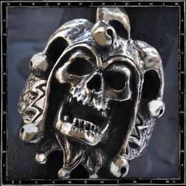 Joker Skull Ring