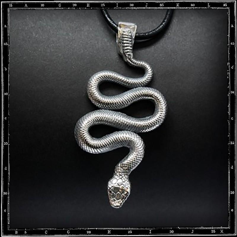Large snake pendant