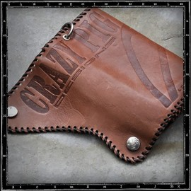 Classic Brown Crazy Pig Leather Wallet