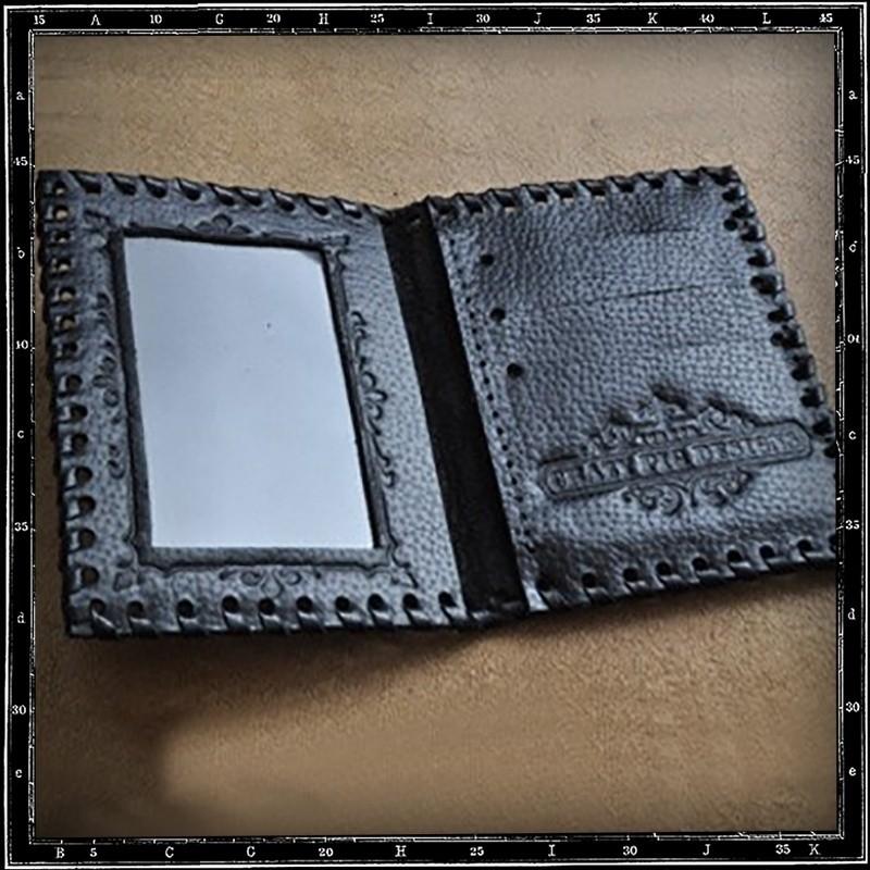 Crazy Pig Designs Travelcard Holder Black