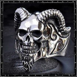 Sabbath Skull ring