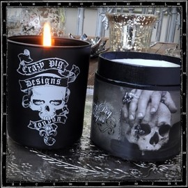 Crazy Pig Designs 'Feux De Bois' Scented Candle