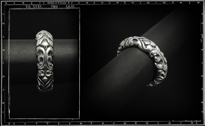 Tudor whole band RING (large)