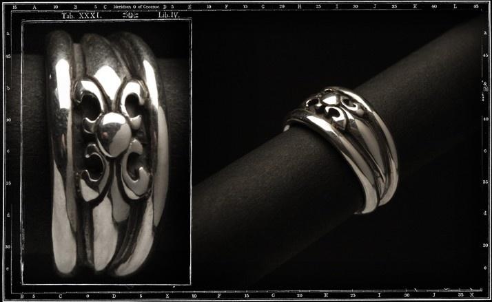 High dome tudor ring (small)