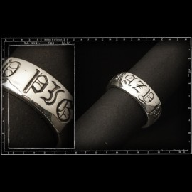 Crazy pig old english ring