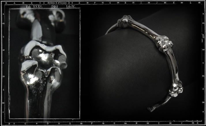 Bones bangle bracelet