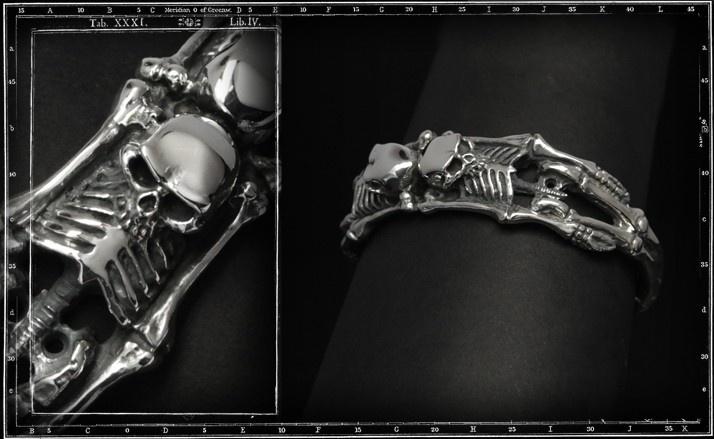 Skeletons bracelet
