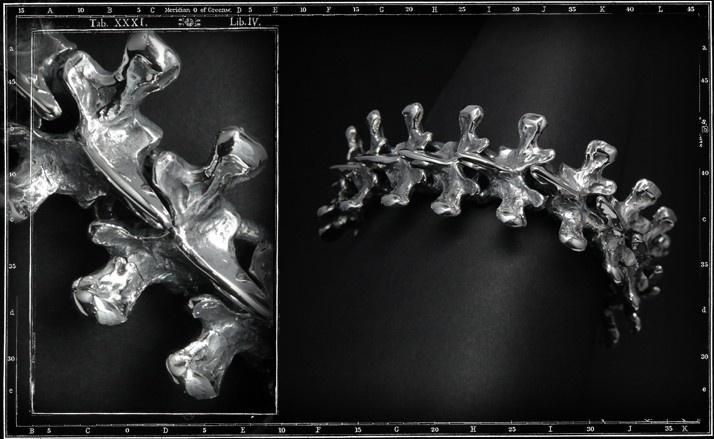 Spine link bracelet (Large)