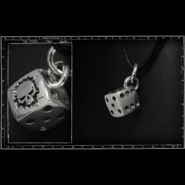 Skull dice pendant