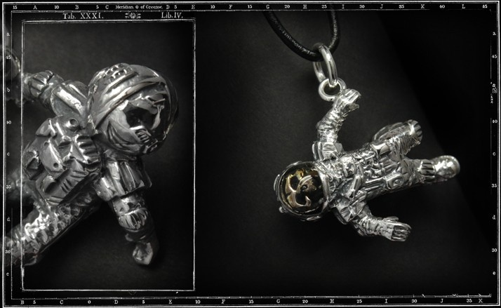 Lost in space pendant