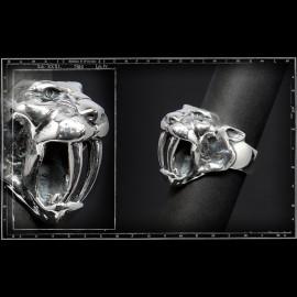 Saber tooth tiger ring