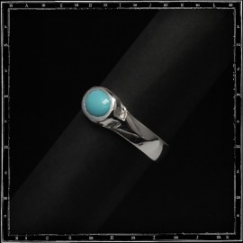 Two arrows ring (8x6mm)