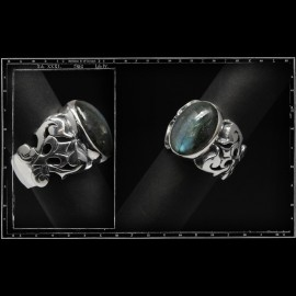 Tudor thorns ring (18x13mm)